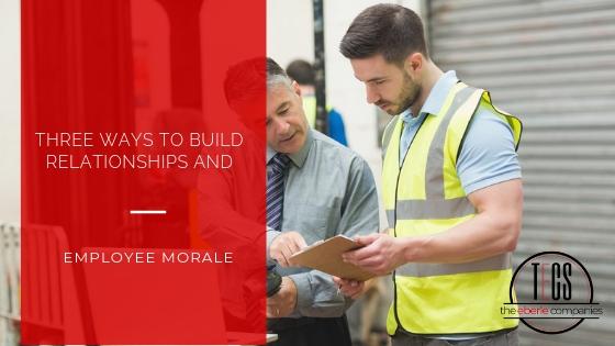 Build employee morale